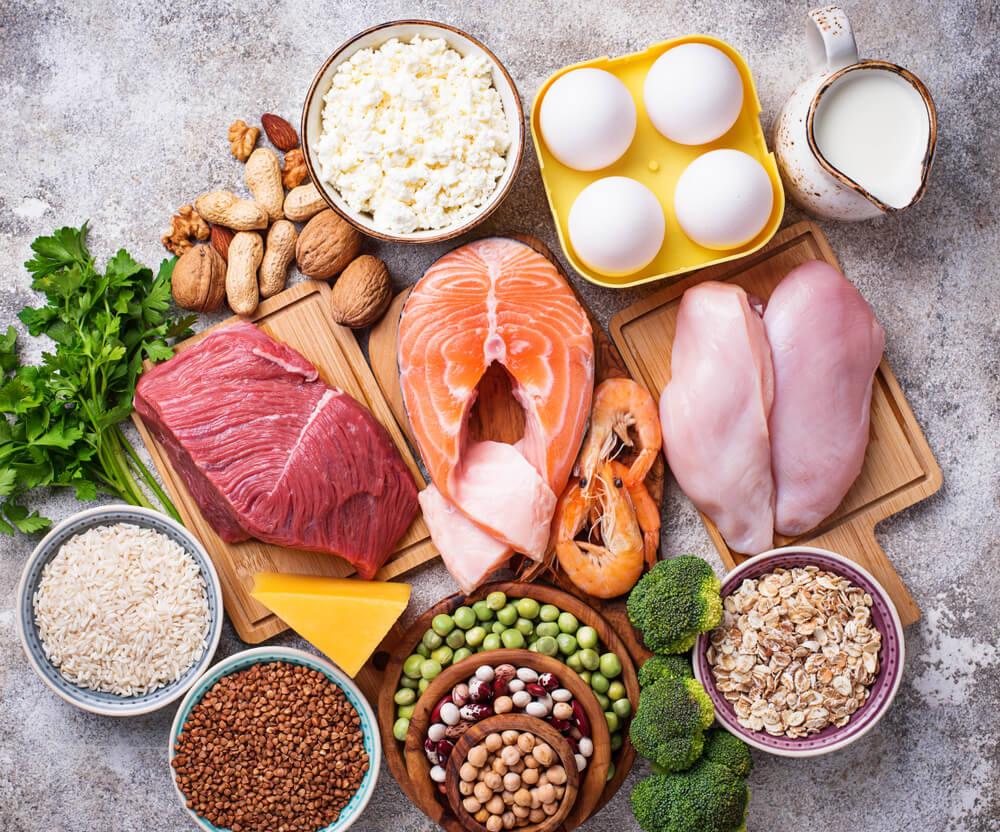 πρωτεΐνες τροφές