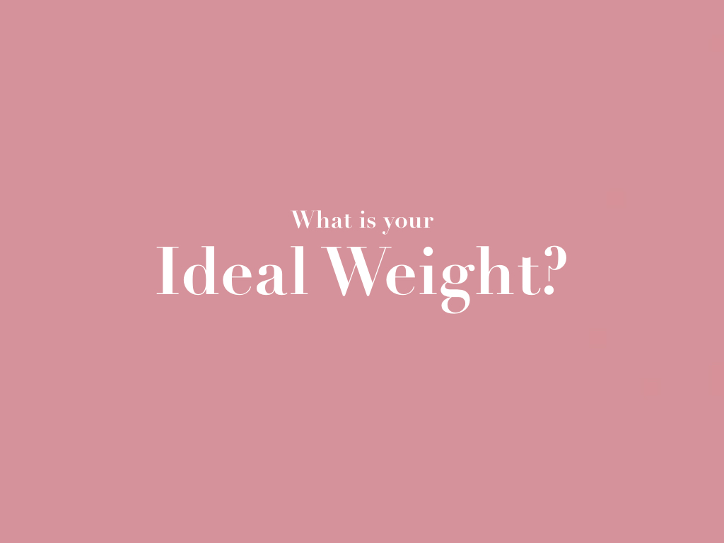 ιδανικό βάρος